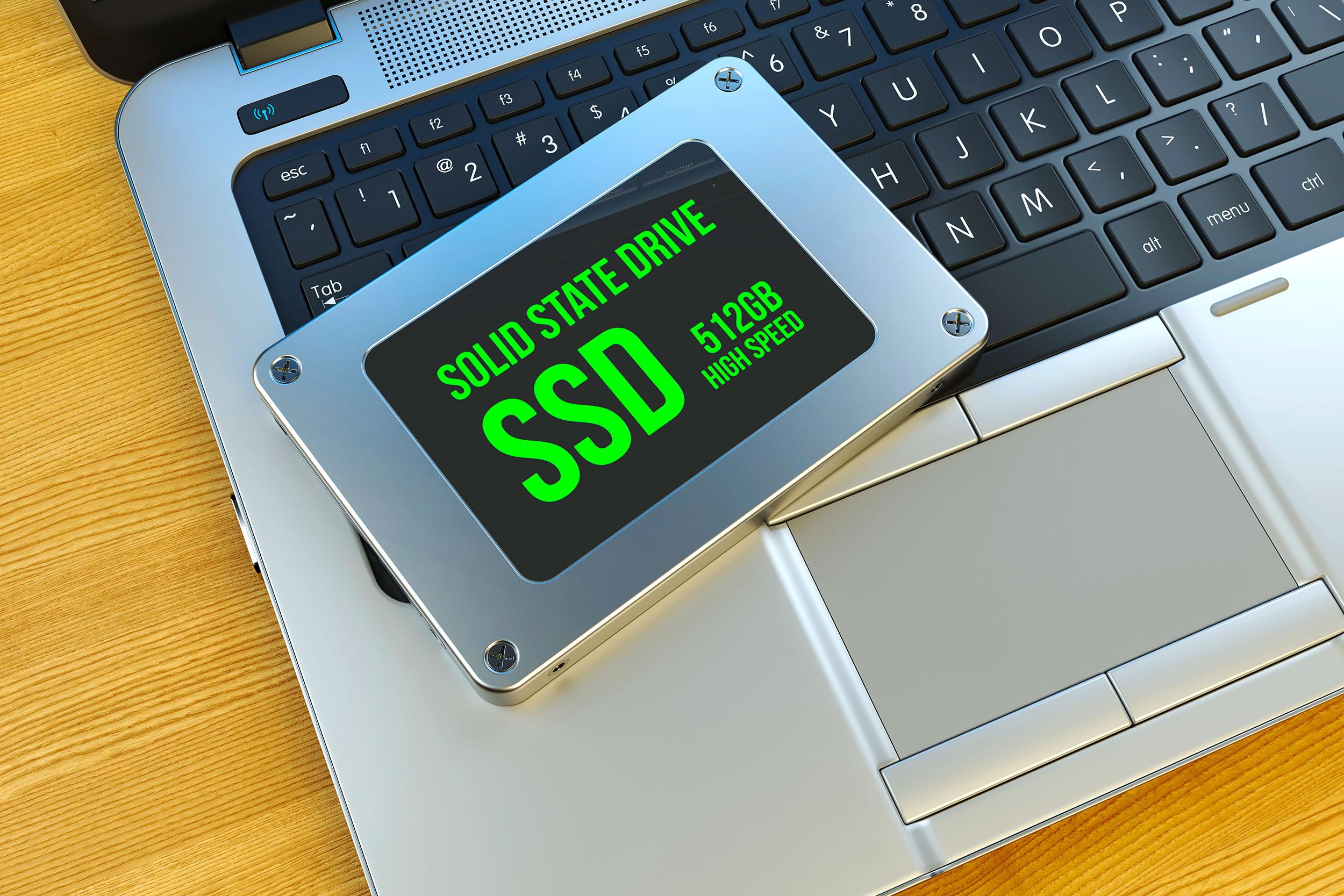 Выбор SSD для ноутбука