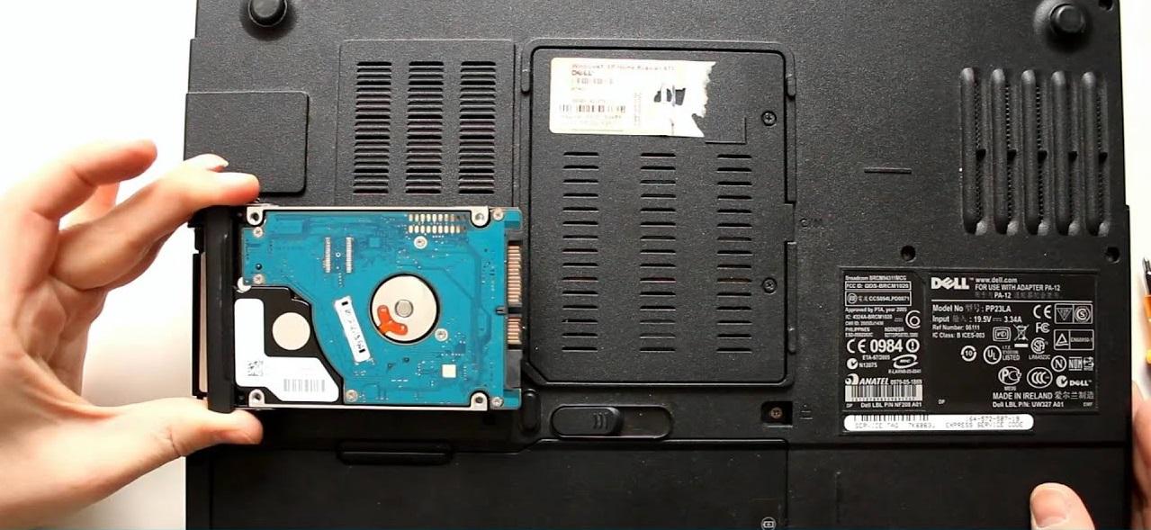Так выглядит HDD ноутбука