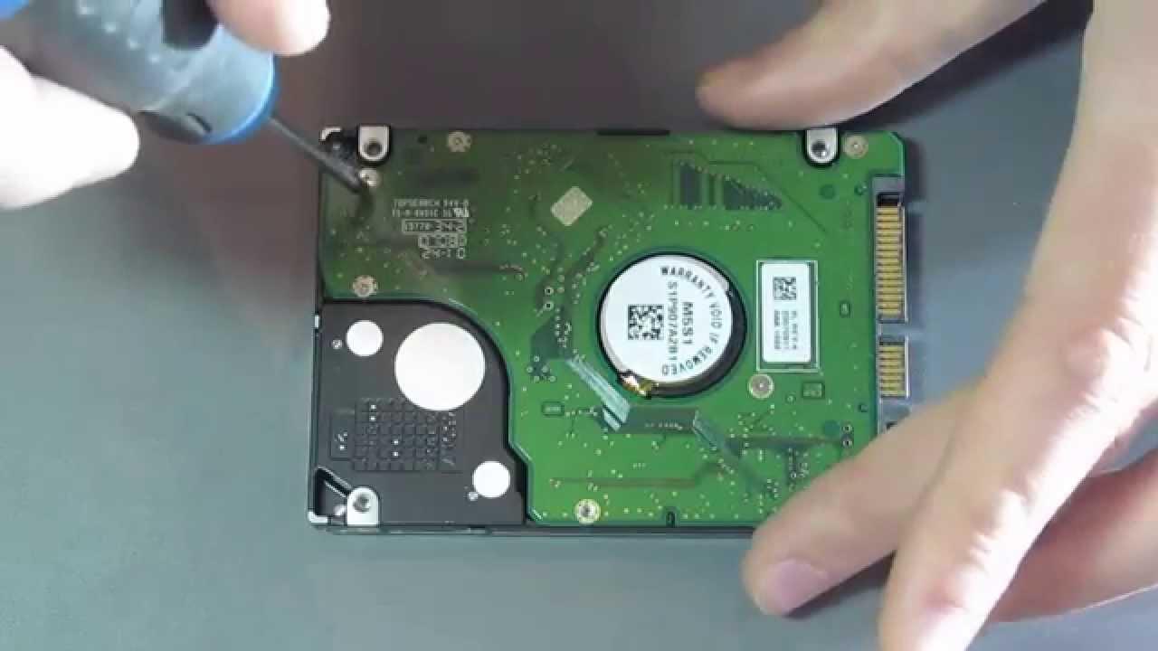 Нужно аккуратно чинить HDD