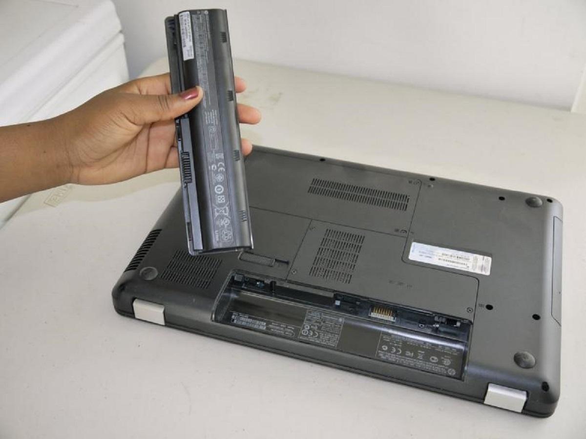 Так выглядит батарея ноутбука