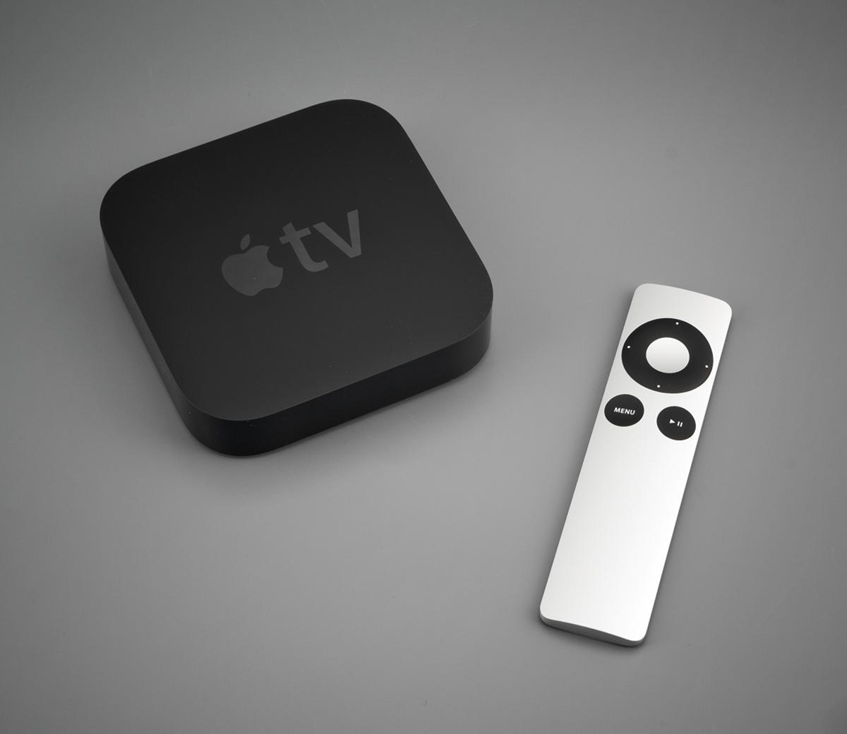 Так выглядит приставка Apple TV