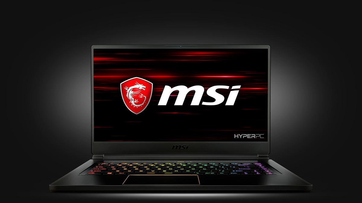 Фото ноутбука модели MSI GS65 Stealth
