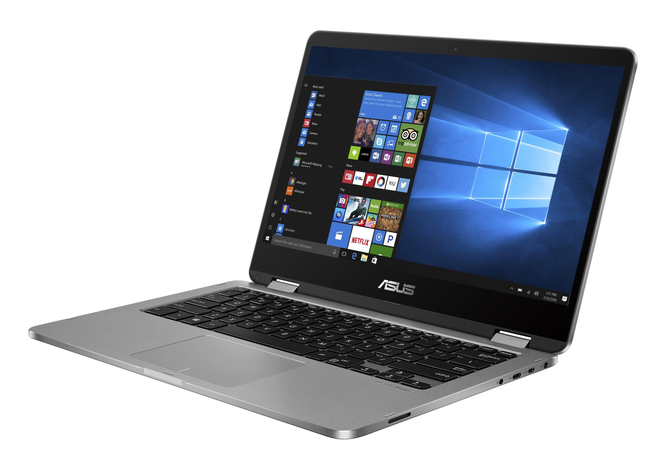 Модель ноутбука-трансформера ASUS VivoBook Flip 14