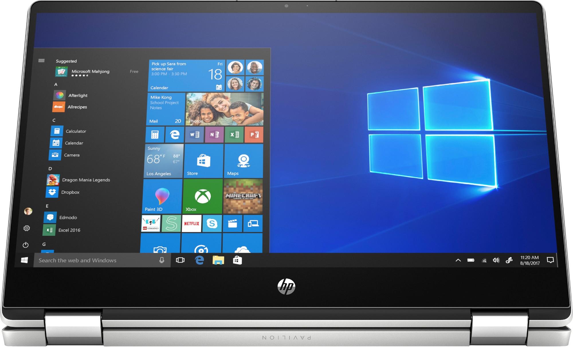 Так выглядит ноутбук HP Pavilion 14-dh0023ur x360