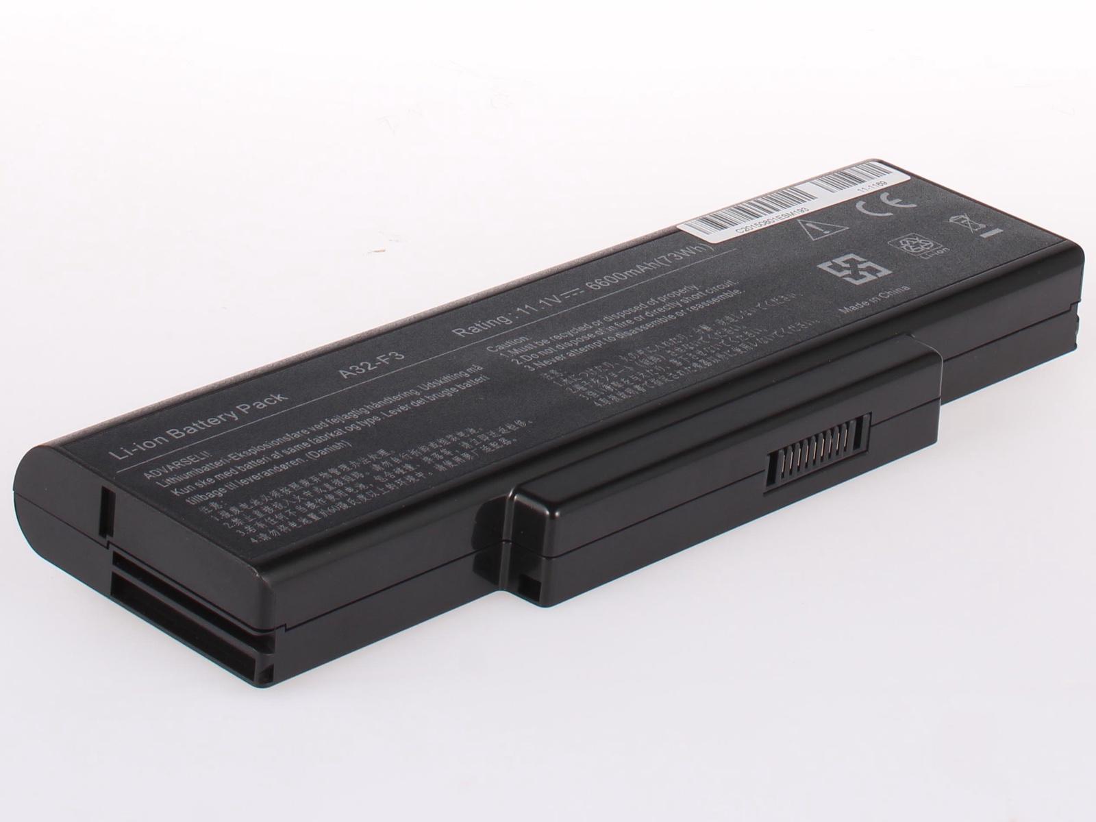 Так выглядит стандартная батарея ноутбука