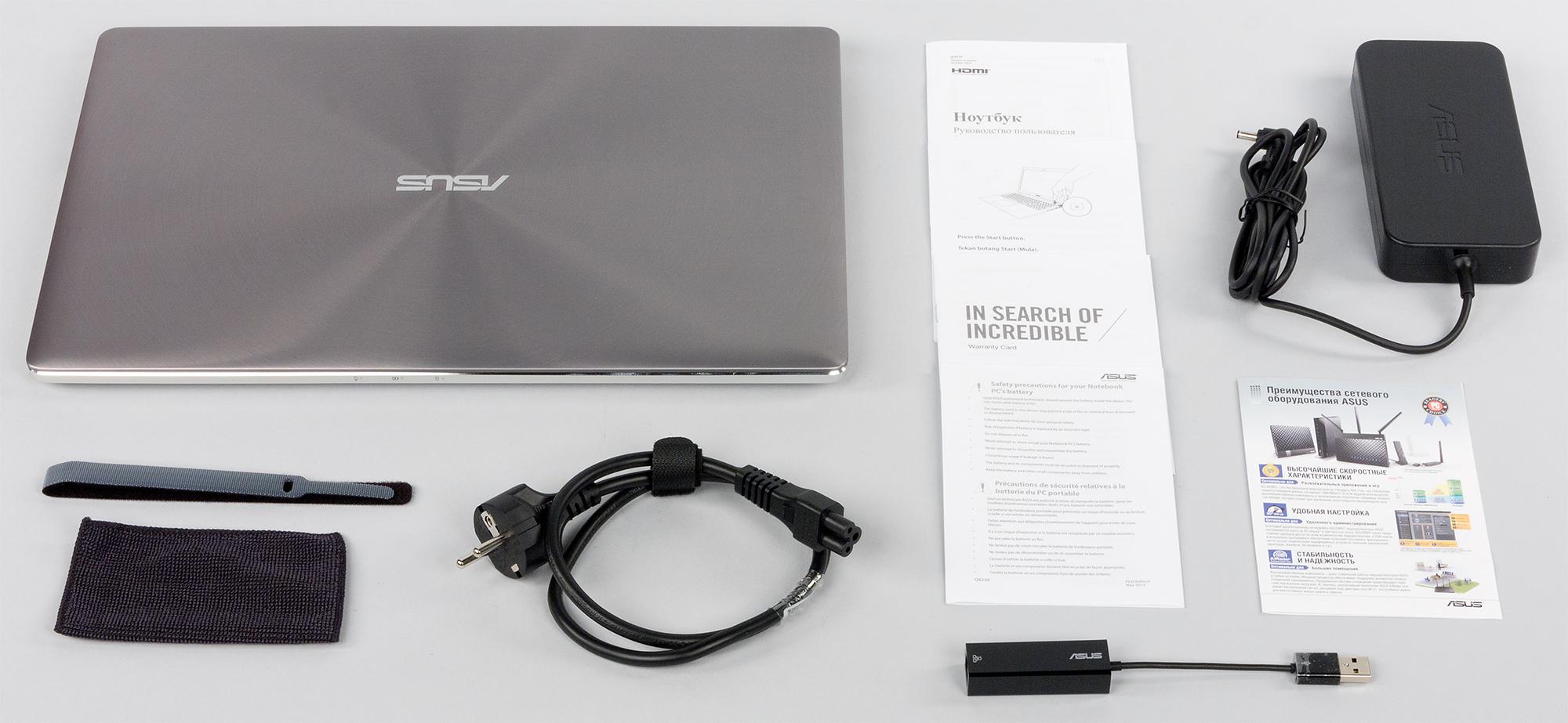 Визуальный осмотр ноутбука