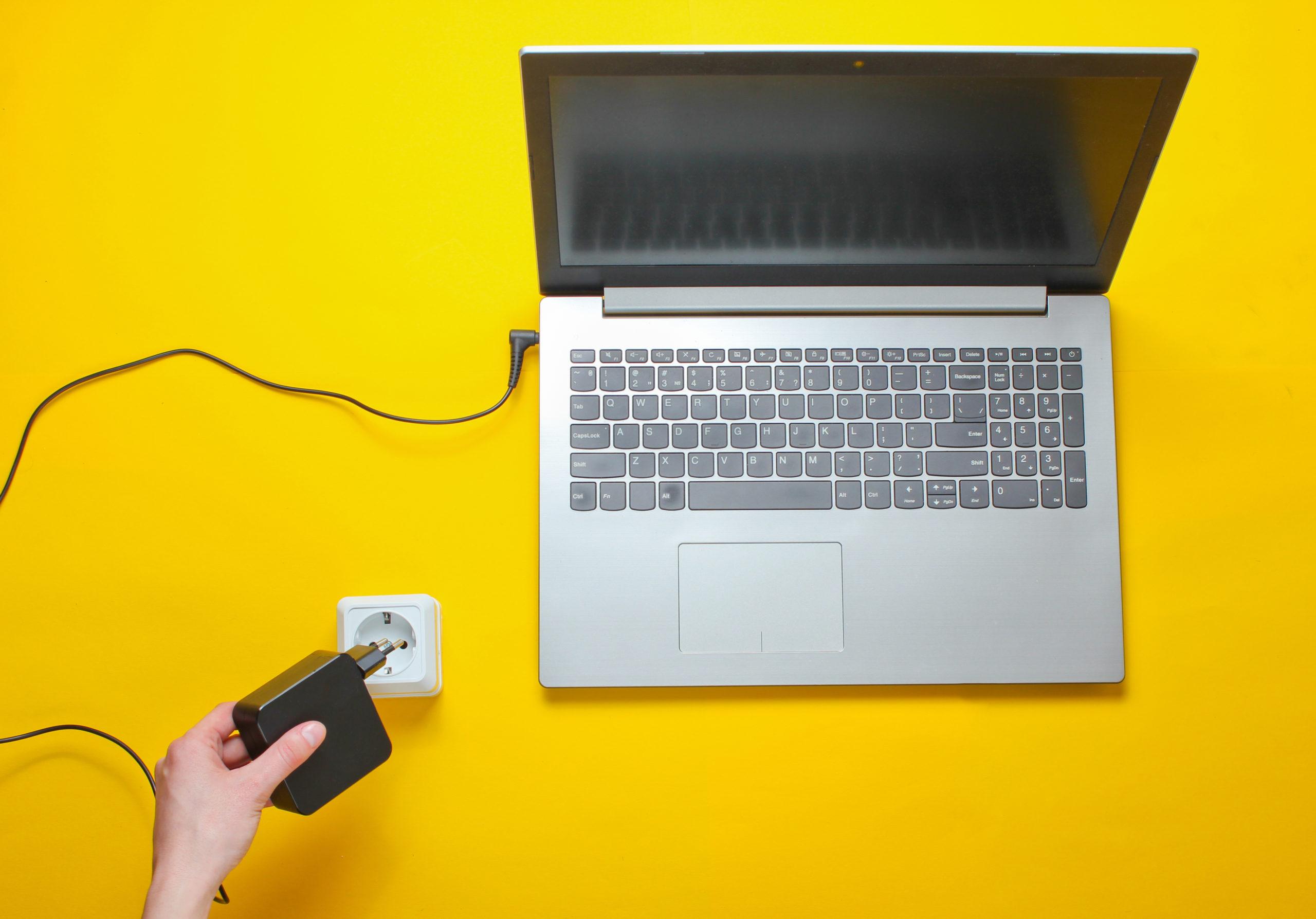 Режимы потребления энергии ноутбука