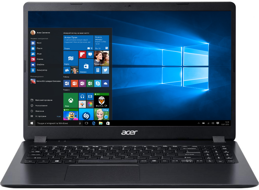 На фото модель Acer Extensa 15 EX215–31