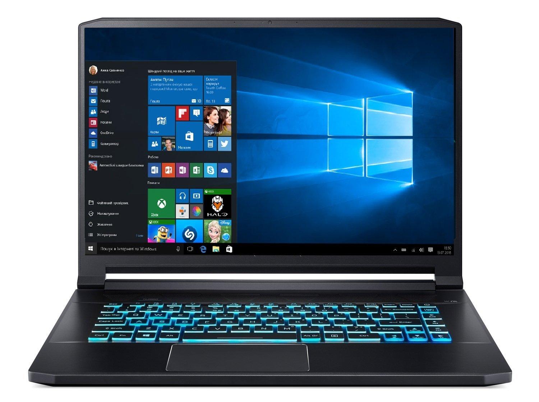 Так выглядит ноутбук Acer Predator Triton 500