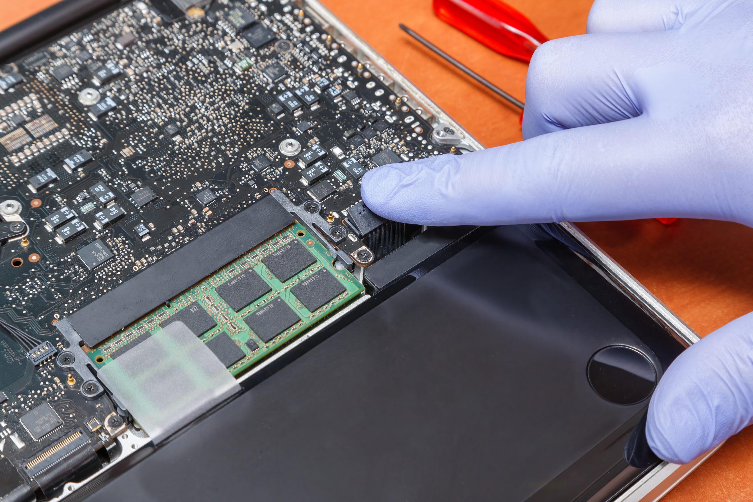 На каких батареях работают ноутбуки