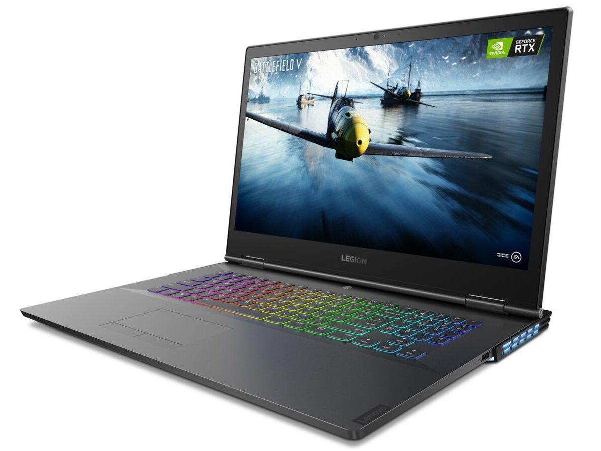 Так выглядит ноутбук Lenovo Legion Y740