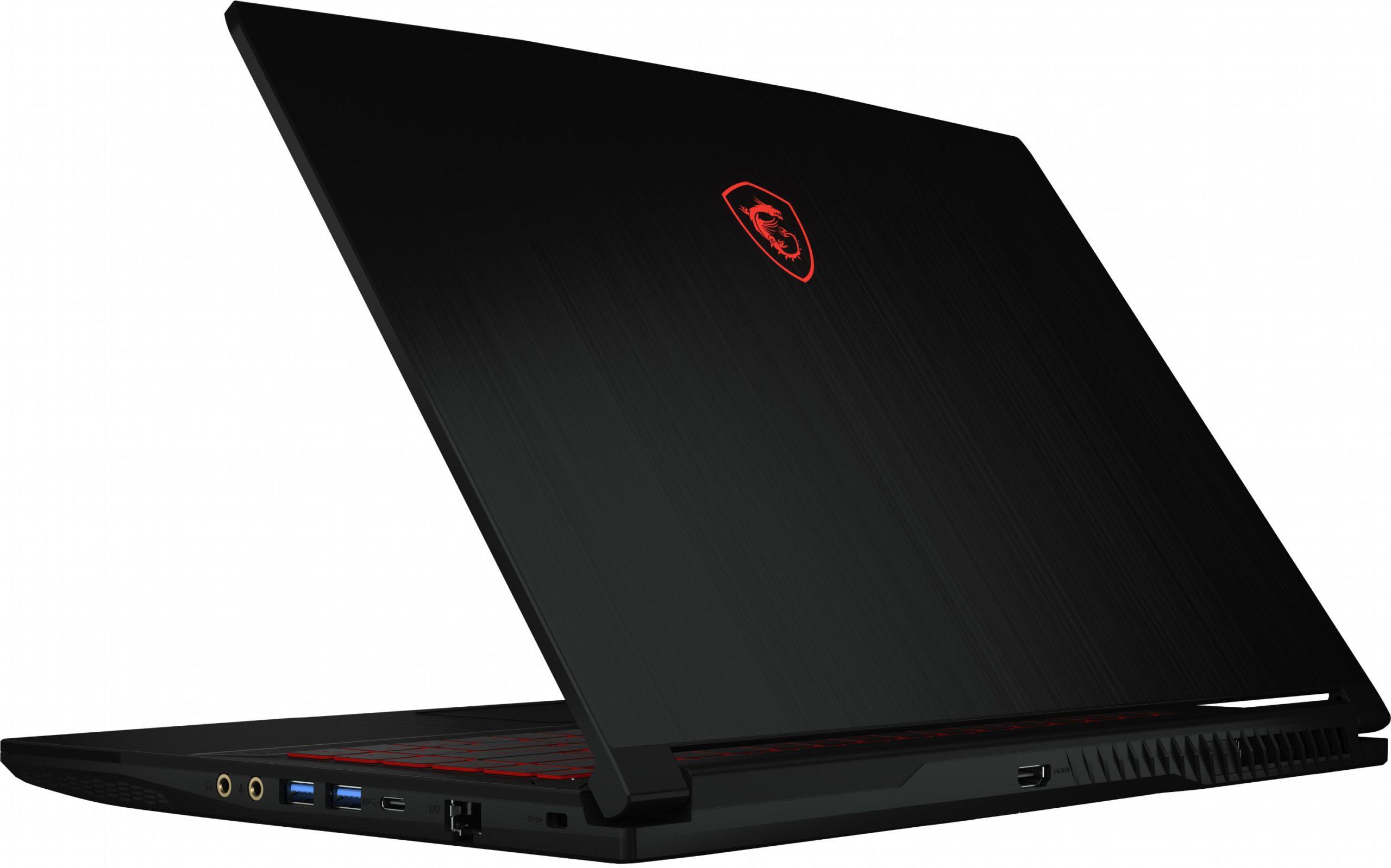 Так выглядит ноутбук MSI GF63 Thin 9SCXR