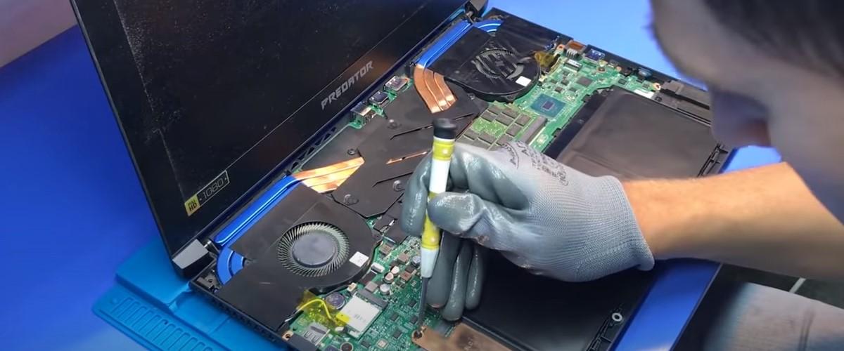 Как ремонтировать ноутбук