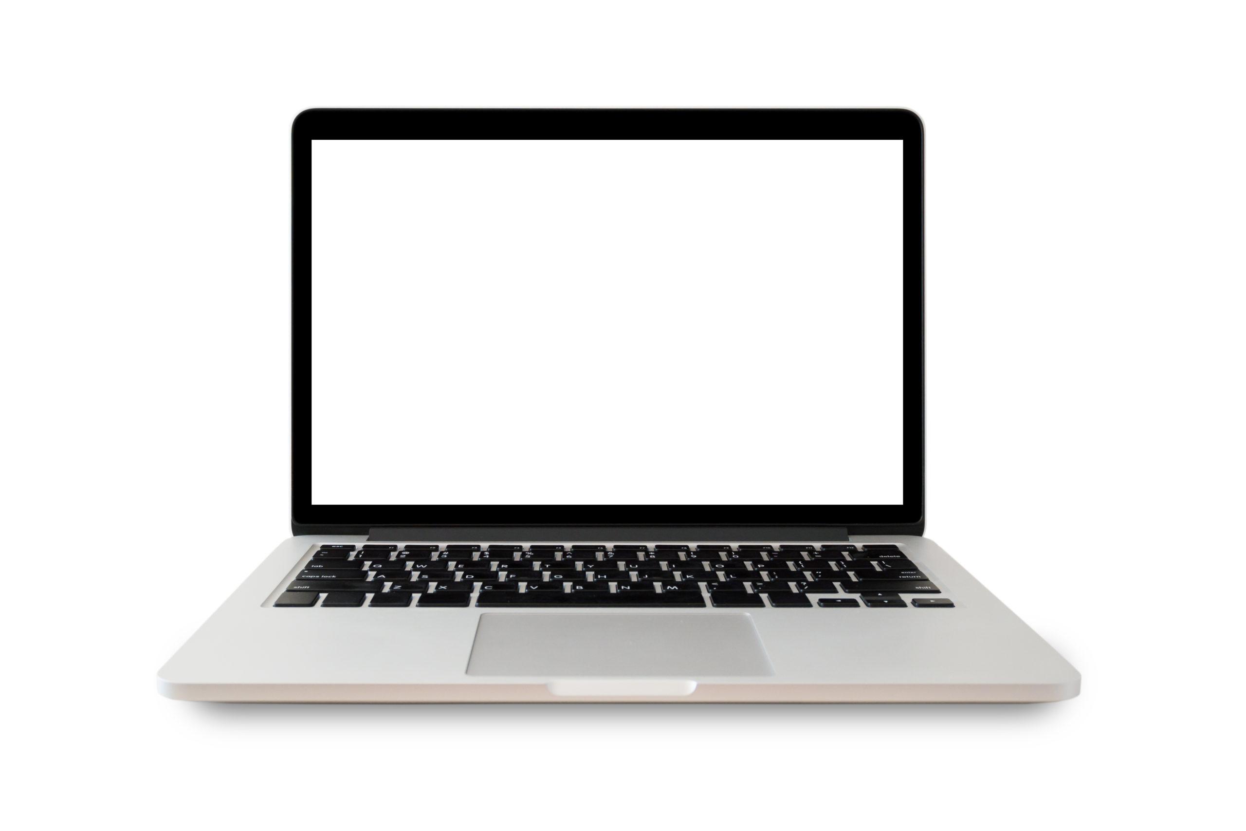 Как исправить появление белого экрана на ноутбуке