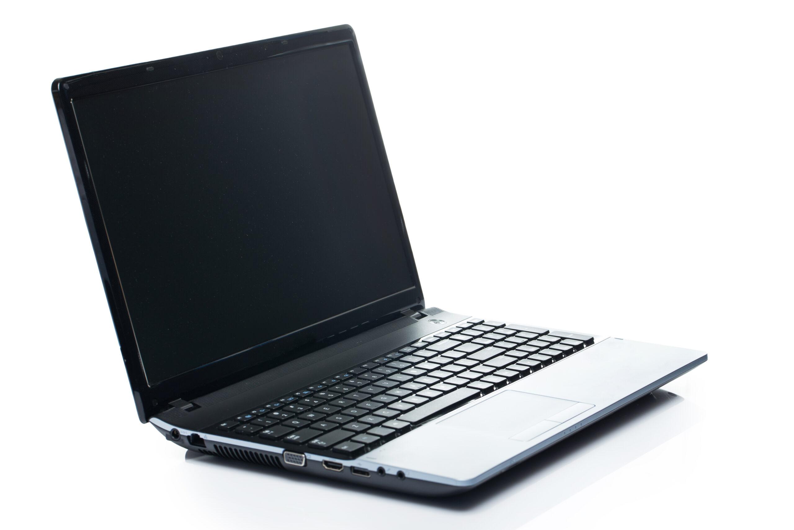 Основные причины черного дисплея на лэптопе