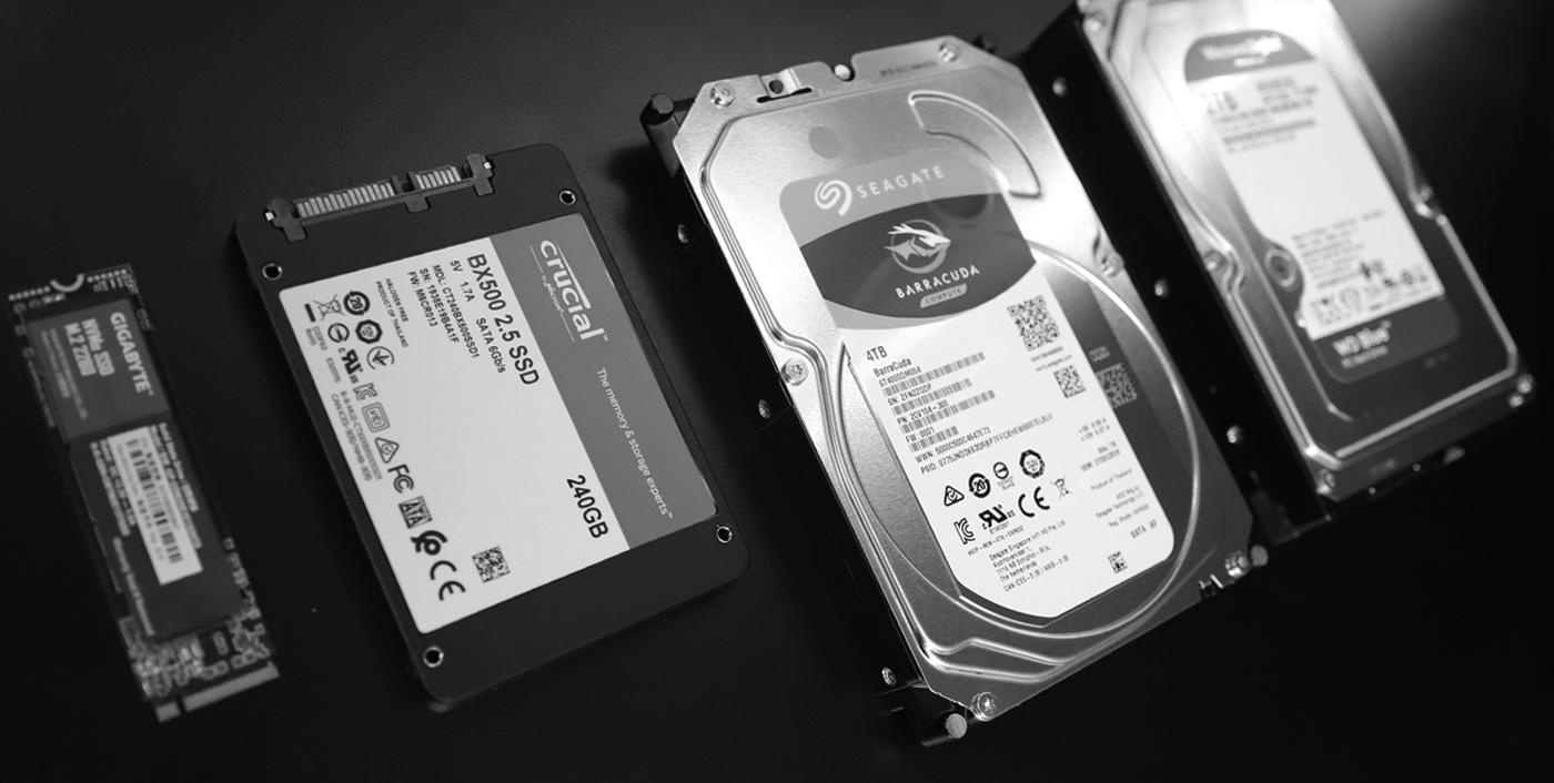 фото Особенности выбора HDD и SSD