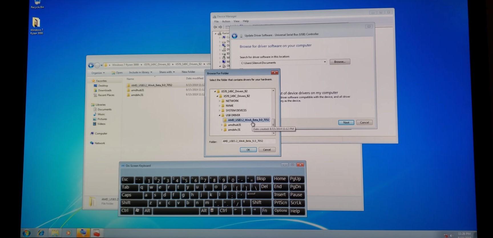 фото Работа с Windows 7