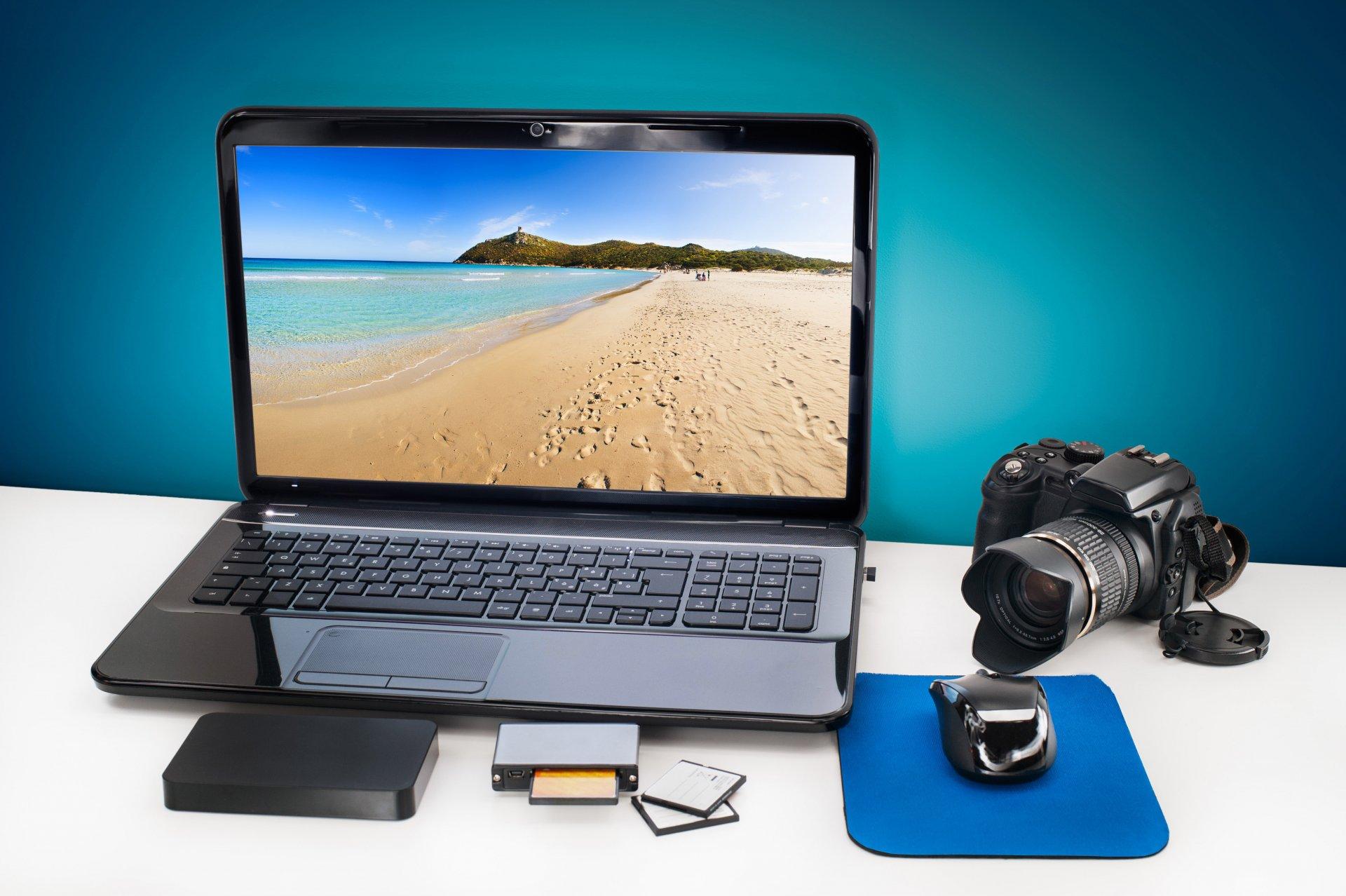 Фото ноутбука для фотографа