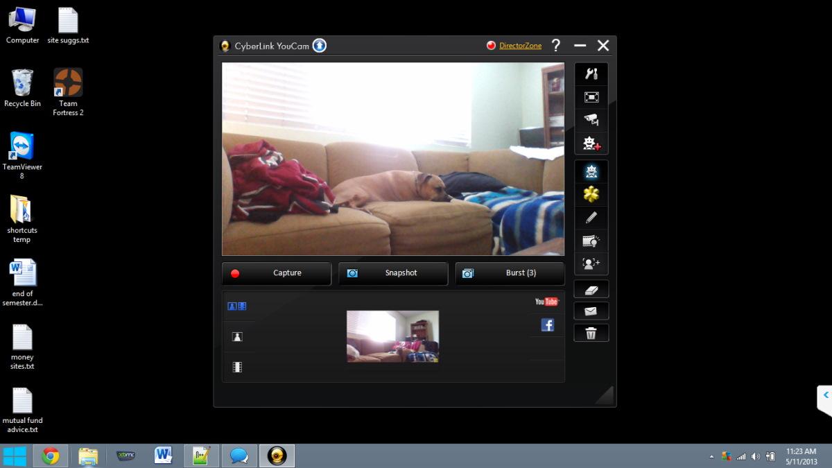 Как сфотографироваться на ноутбуке