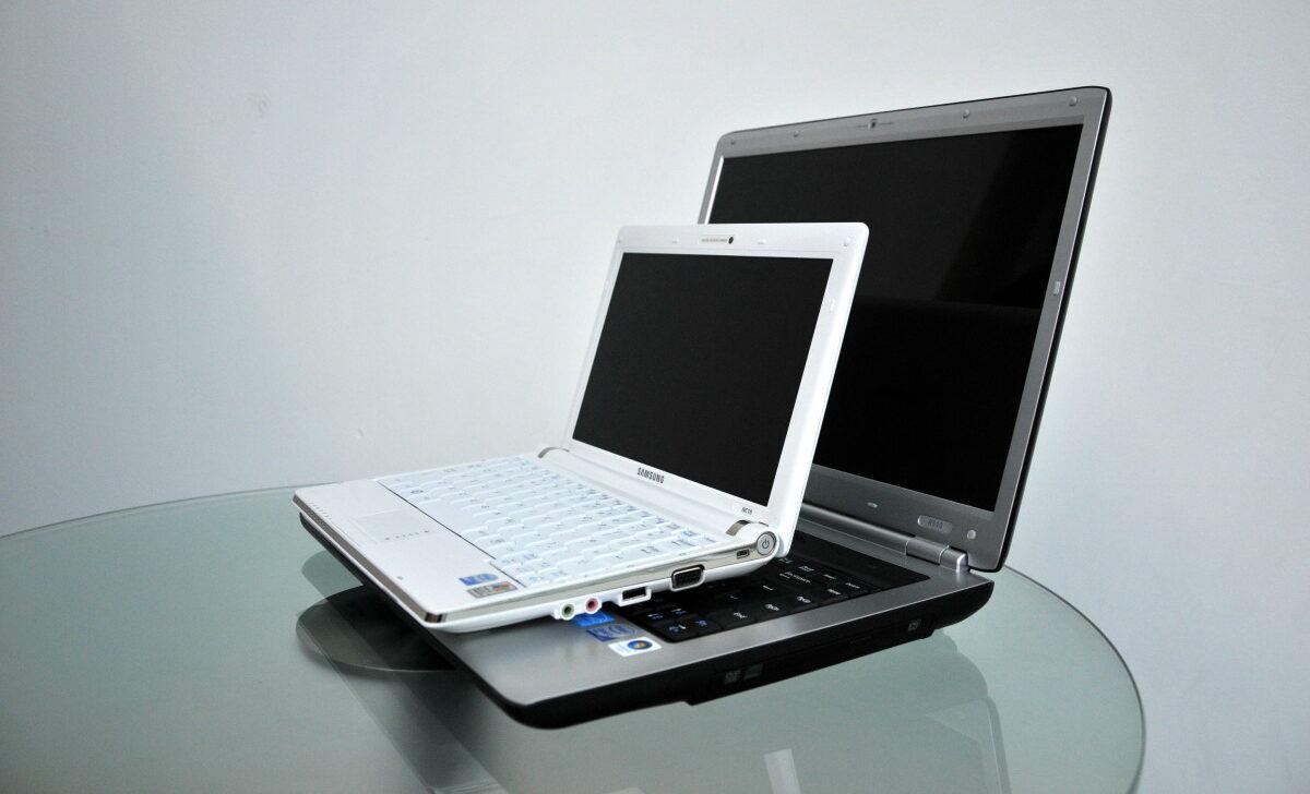 Фото ноутбука и нетбука
