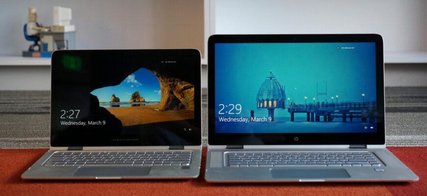 Фото разных ноутбуков