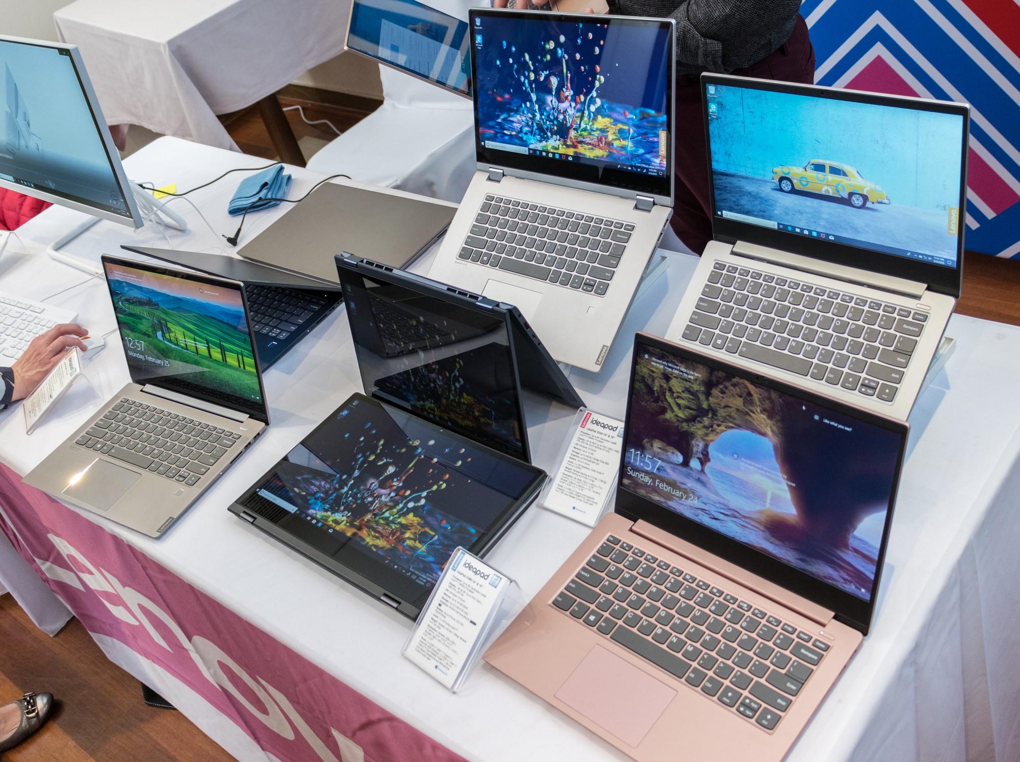 Фото разных лэптопов