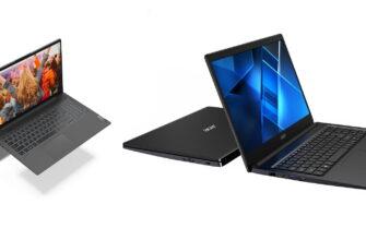 Фото Acer и Lenovo