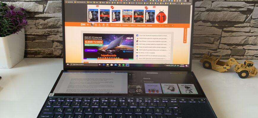Ноутбук ROG Zephyrus Duo 15 SE
