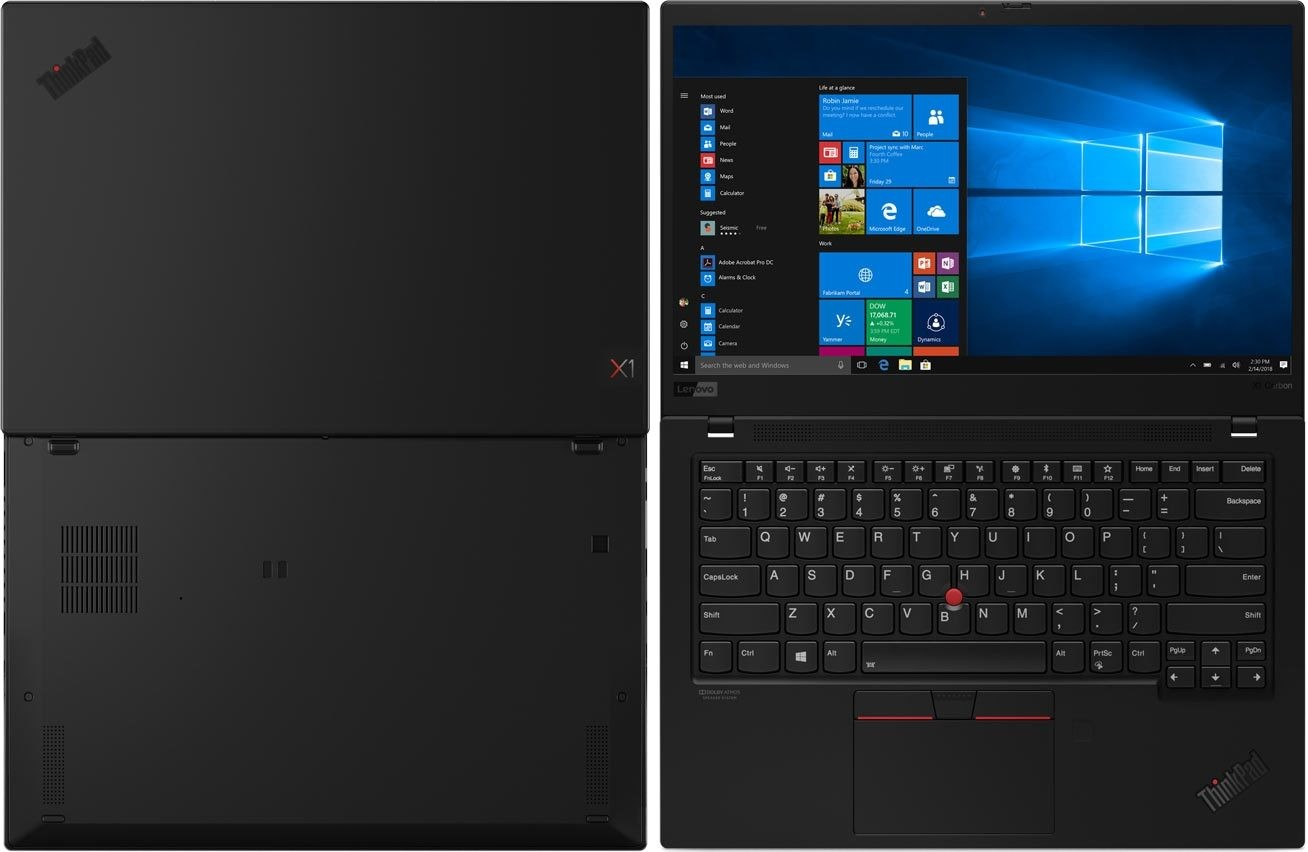 Фото Lenovo ThinkPad X1 Carbon