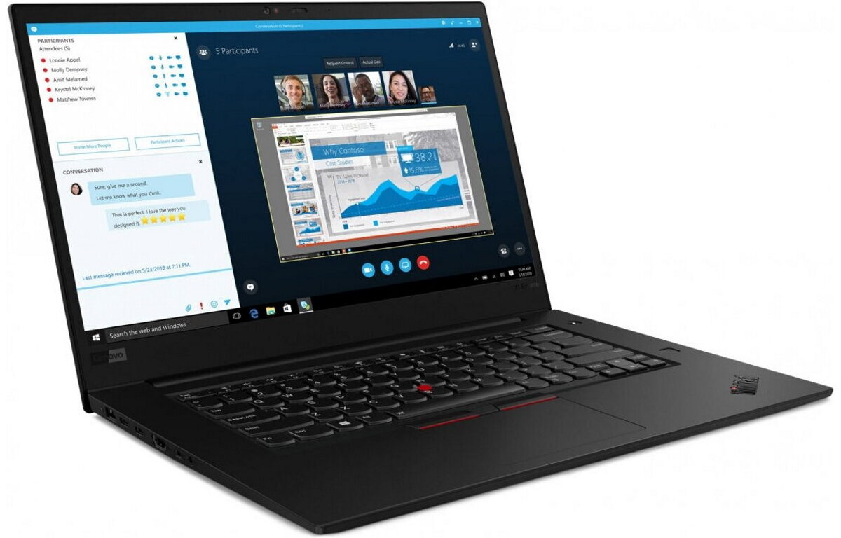 Фото Lenovo ThinkPad X1 Extreme
