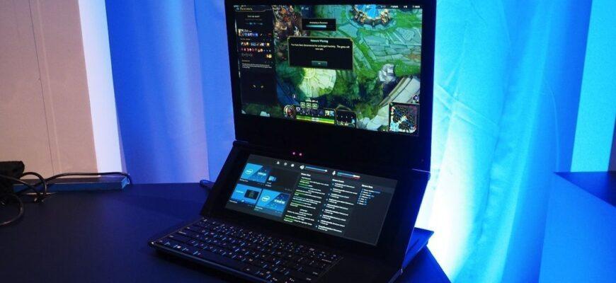 Новый ноутбук от Intel, который покупатель будет дорабатывать самостоятельно